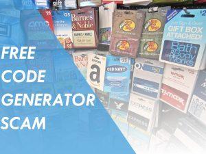 free code generator scam
