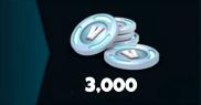 3000 V-Bucks