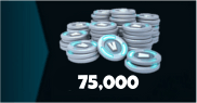 75000 V-Bucks